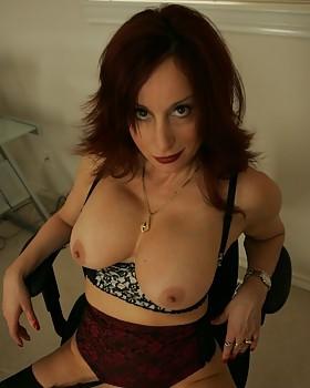 Dirty busty stocking secretary - older porn by Abigail Fraser
